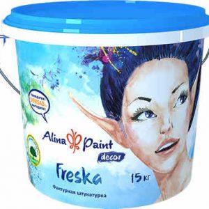 Декоративная штукатурка ALINA PAINT Freska, 15 кг