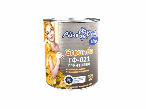 Грунтовка ГФ-021, Alina Paint Grounda