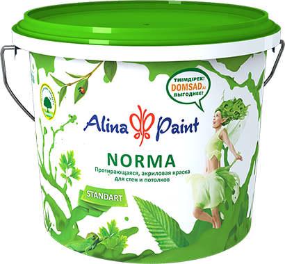 Краска акриловая ALINA PAINT Norma, 1 кг