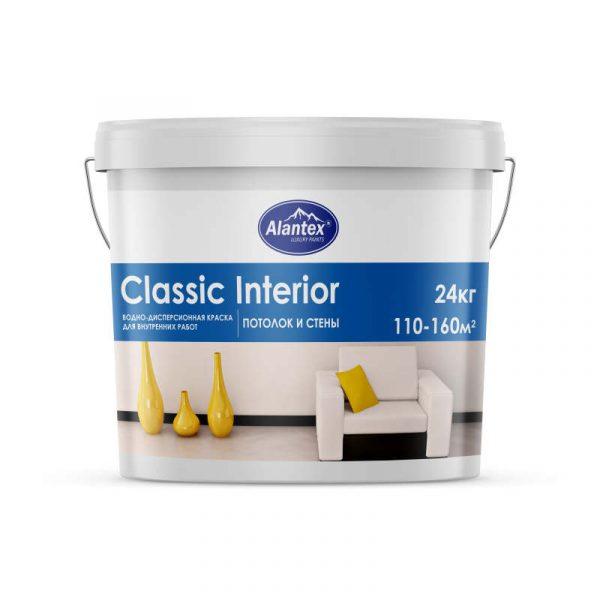 Краска водно-дисперсионная Alantex Classic Interior1