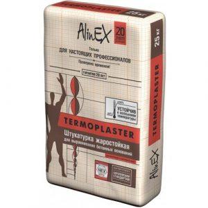 Штукатурка AlinEX TERMOPLASTER, 25кг