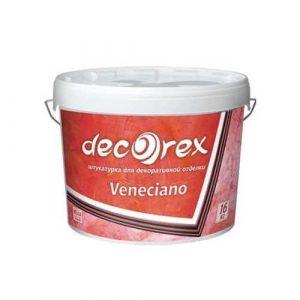 Decorex Veneciano, 4,5 кг декоративная штукатурка, всесезонная