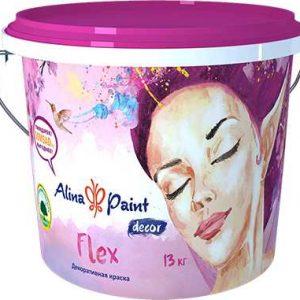 Декоративная краска ALINA PAINT Flex