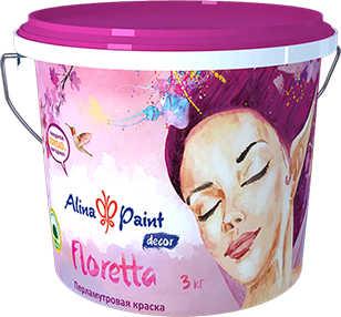 Декоративная краска Floretta