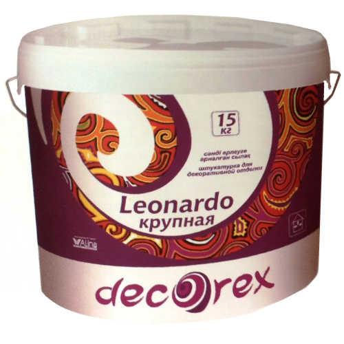 Декоративная штукатурка Decorех Леонардо, 25 кг