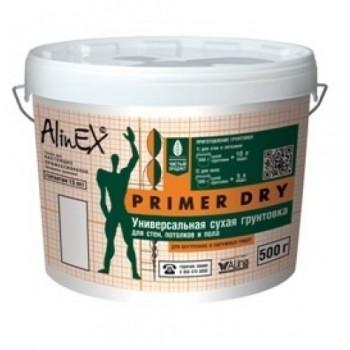 Грунтовка сухая AlinEX PRIMER DRY для стен и пола