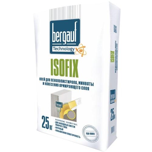 Клей Bergauf Isofix Winter для теплоизоляции 25кг