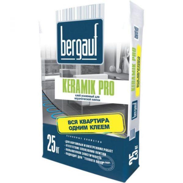 Клей Bergauf Keramik для керамической плитки 25кг