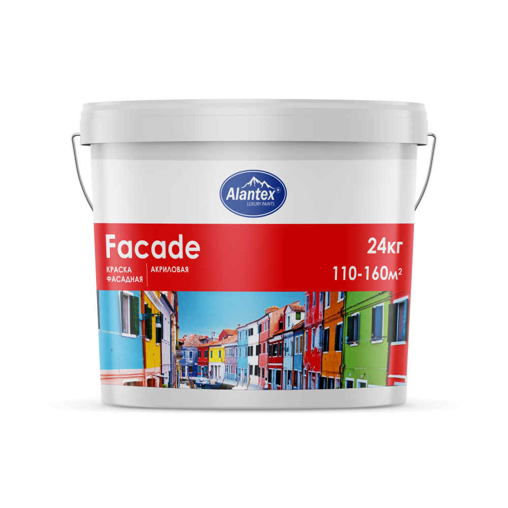 """Краска фасадная """"Alantex"""" Facade"""