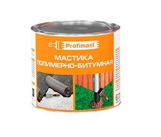 PROFIMAST Мастика полимерно-битумная 2л