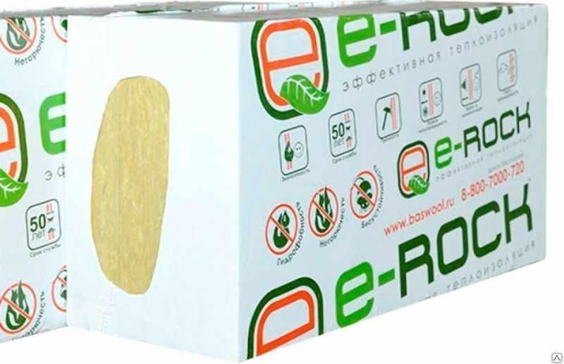 Плиты BASWOOL Ecorock 30 теплоизоляционные 1200х600х100