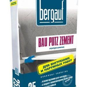 Штукатурка Bergauf Bau Putz Zement цементная 25кг