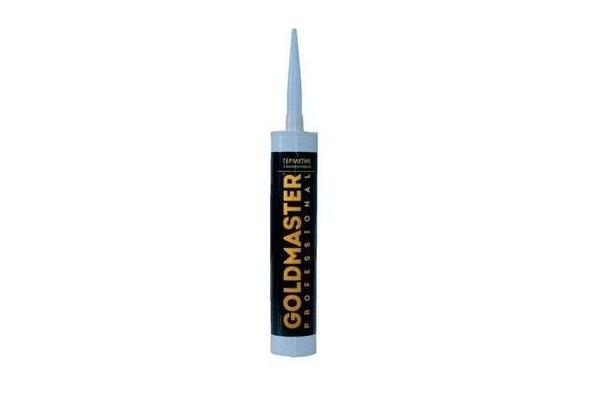 Силикон санитарный Goldmaster 310мл (белый, прозрачный)