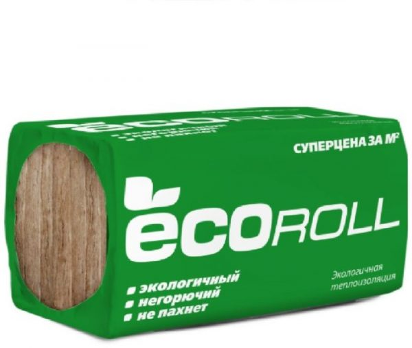 Тепло Knauf ECOROLL (плотность 35-45кг м3)