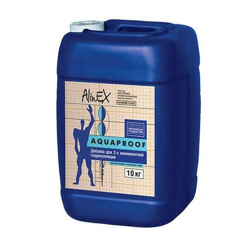 Жидкая добавка AlinEX AQUAPROOF, 10 кг