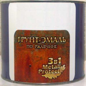 Грунт-эмаль (3в1) СЕРАЯ 30 КГ