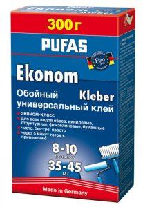 Клей PUFAS EURO 3000 300г Eсonom универсальный обойный