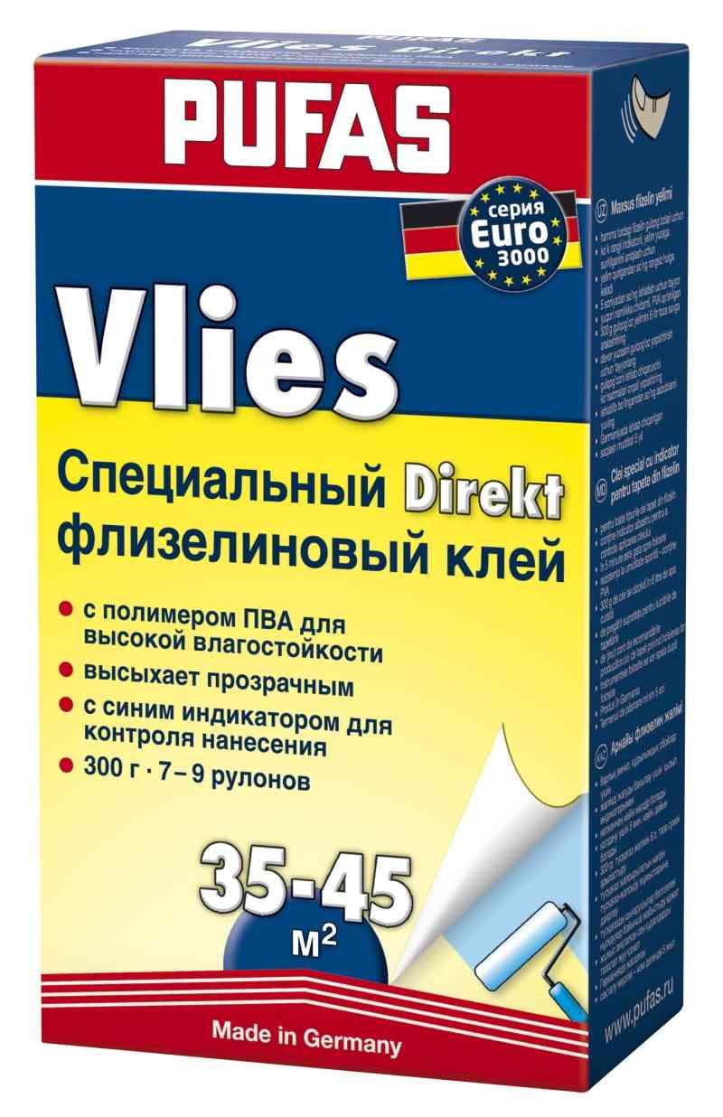 Клей PUFAS EURO3000 Eko обойный флизелиновый 500гр