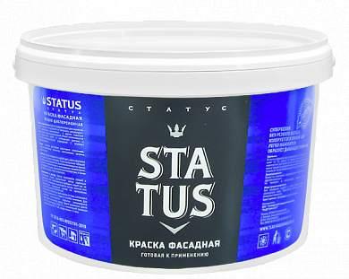 Краска ВД-АК фасадная STATUS (1.5-25кг)